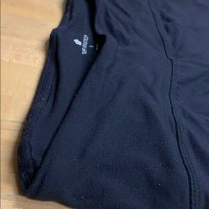 2 pairs of Tuff Athletics Black Leggings